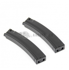 Lot de 2 chargeurs Hi-cap MP5 AEG Series