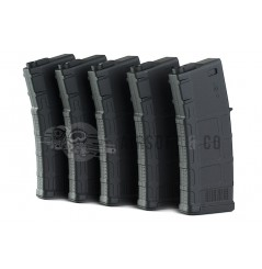 Pack 5 chargeurs EXP type PMAG 3