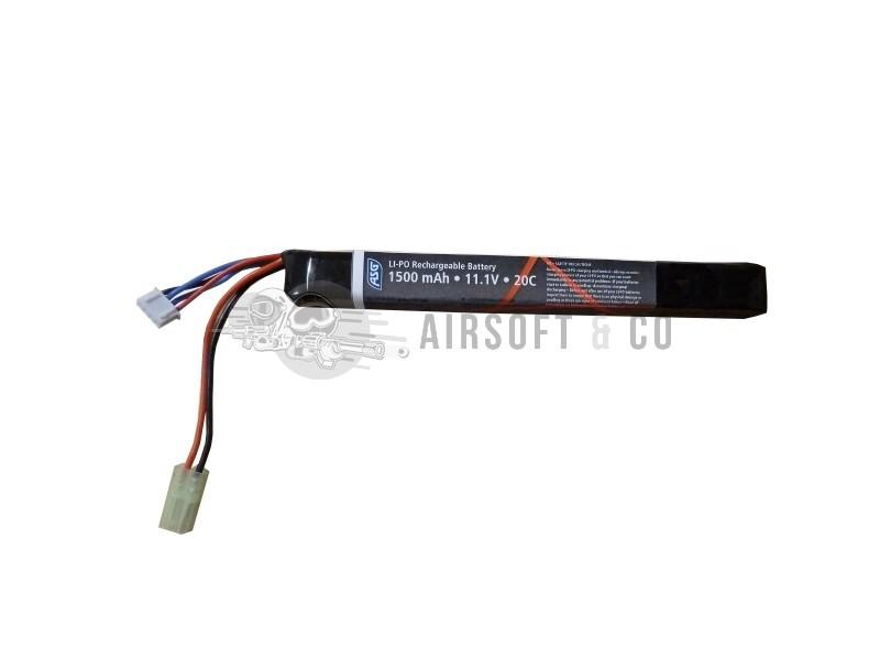 Batterie LiPo 11.1 v 1500 mAh Stick