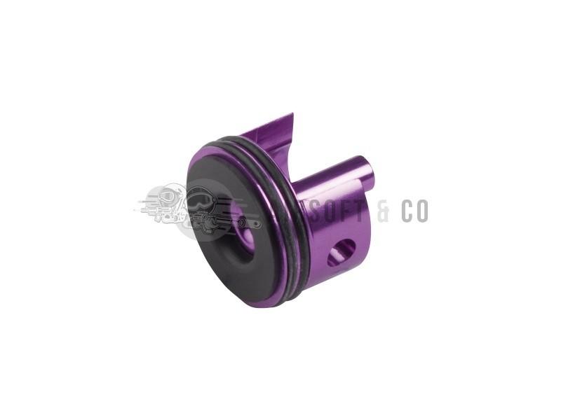 Tête de cylindre en aluminium pour gearbox V3 (violette)