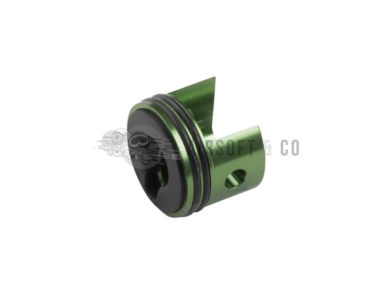 Tête de cylindre en aluminium pour gearbox V6 (verte)