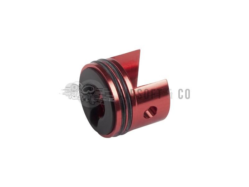 Tête de cylindre en aluminium pour gearbox V7 (rouge)