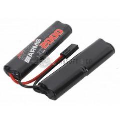 Batterie NiMh 9.6 v 2000 mAh