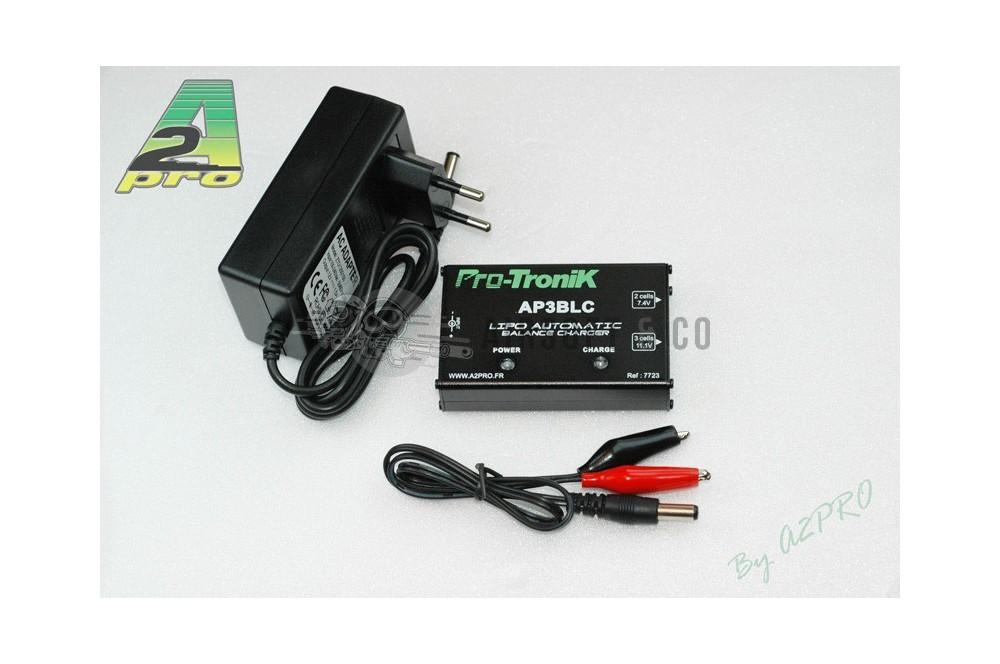 Chargeur de batteries LiPo (AP3BLC)