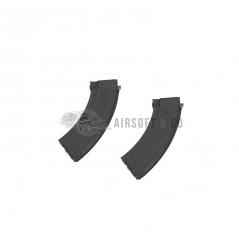 Lot de 2 chargeurs Mid-cap AK AEG Series