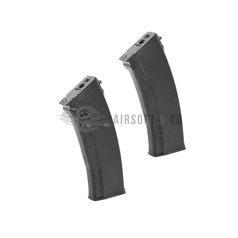 Lot de 2 chargeurs Hi-cap AK AEG Series