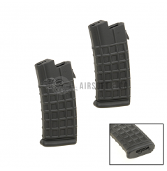 Lot de 2 chargeurs Hi-cap AUG AEG Series