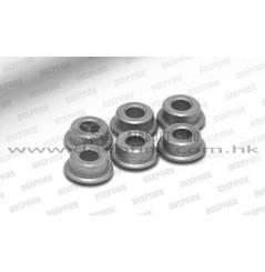 Bushings métal Ø 6 mm (6 pièces)