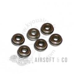 Bushings métal Ø 8 mm (6 pièces)