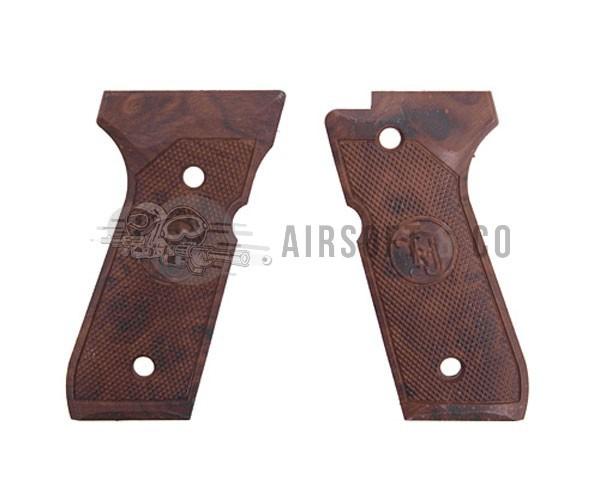 Grips pour M9 GBB imitation bois