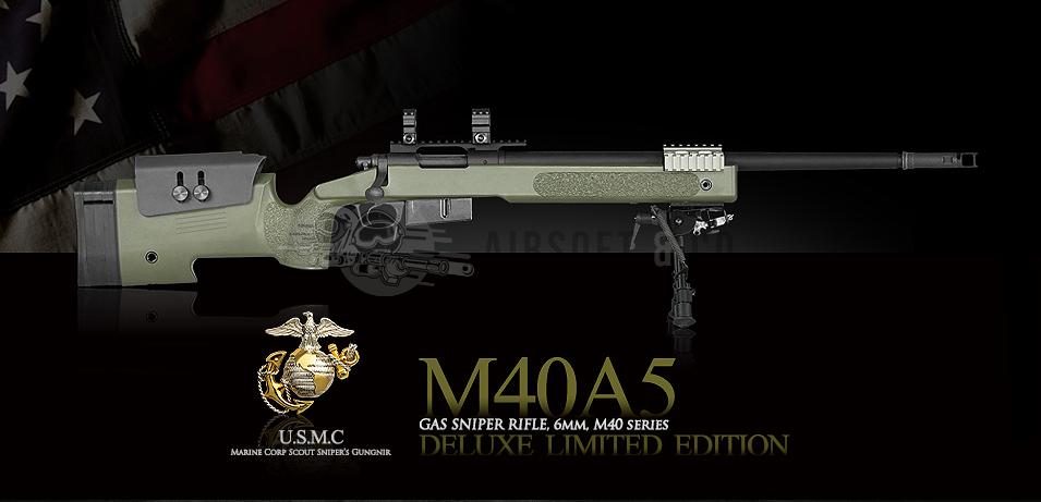 M40A5 Gas Sniper Rifle Super Deluxe Edition