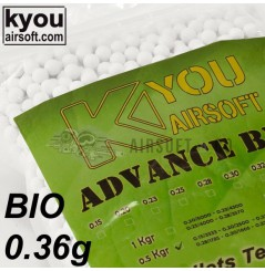 Billes 0.36 gr Bio Advance - 1388 billes