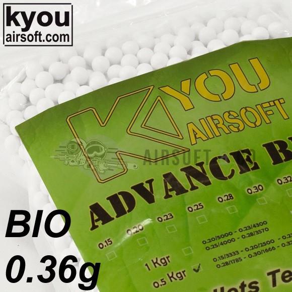 Billes 0.36 gr Bio Advance - 1388 billes