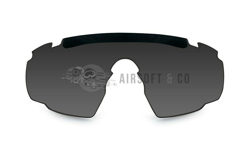 Ecran fumé pour lunettes Saber Advanced