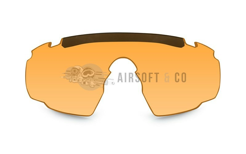 Ecran orange pour lunettes Saber Advanced