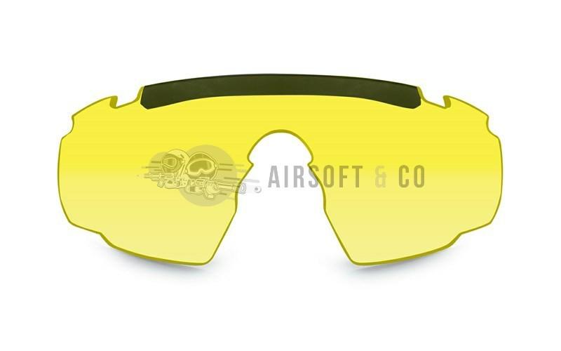 Ecran jaune pour lunettes Saber Advanced