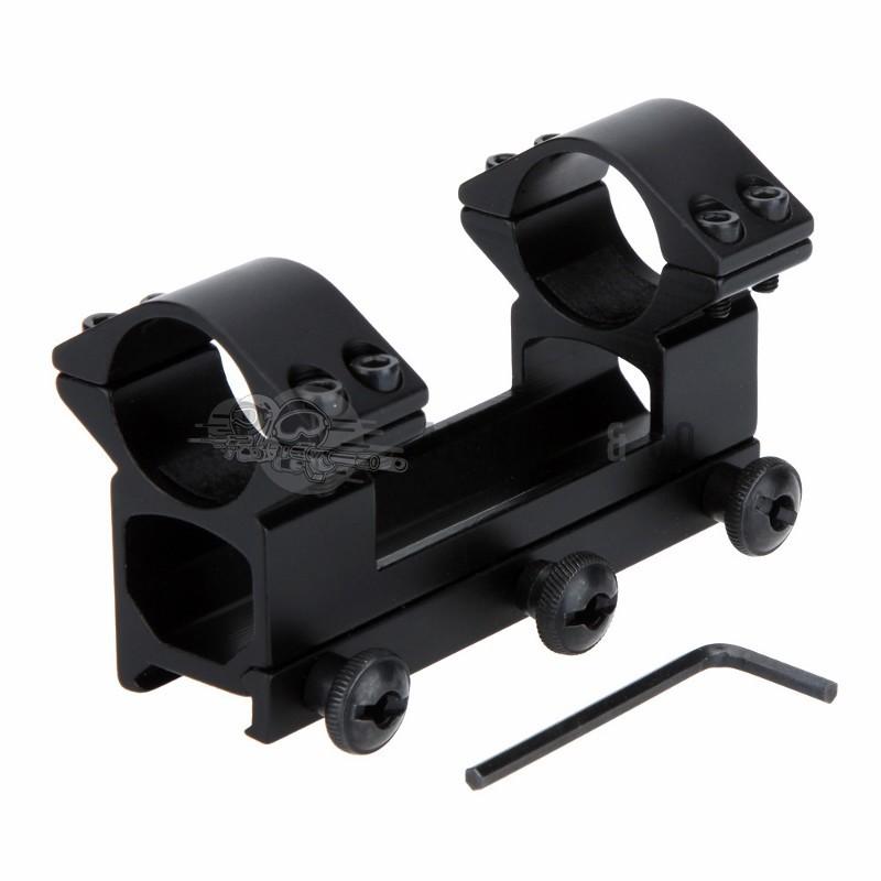 Montage lunette intégral Ø 30 mm