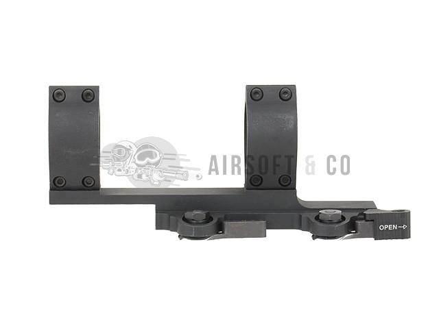 Montage lunette double Ø 30 mm Type SPR QD
