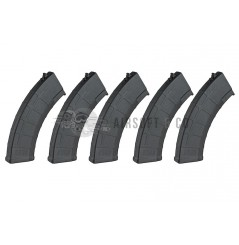 Pack 5 chargeurs EXP type PMAG 3 pour AK Series