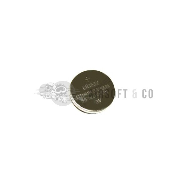 Pile lithium CR1632 - 3 V