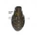 Enveloppe grenade CO2 Type MK2