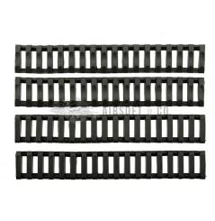 Couvre-rails Slim souples (paquet de 4 pièces)