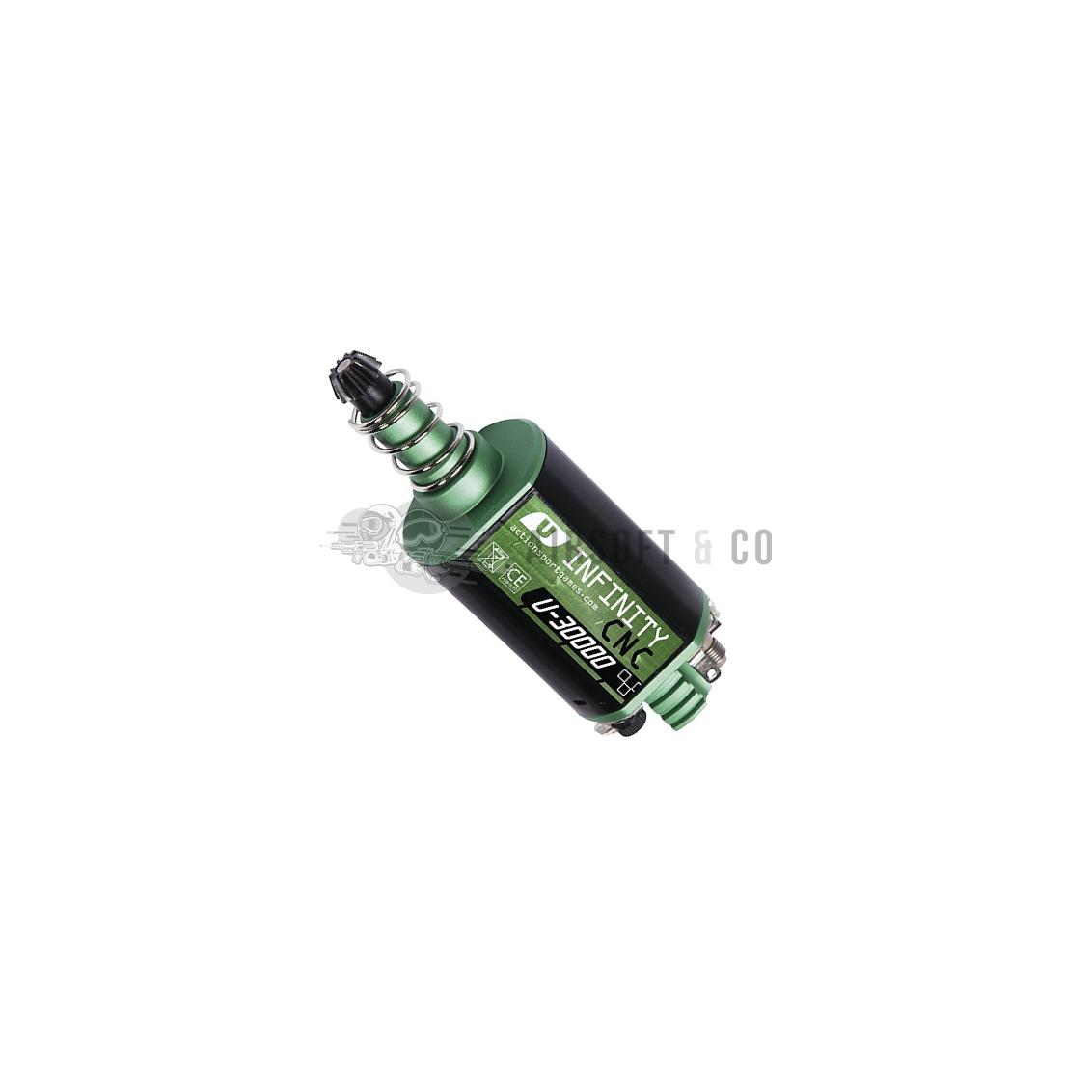 Moteur Infinity CNC U-30000 (axe long)