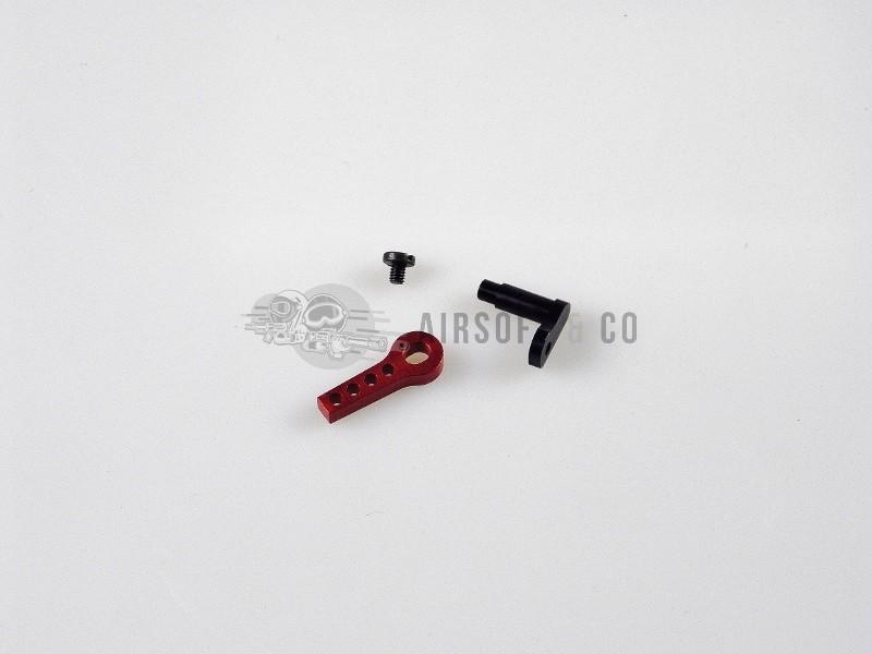CNC Aluminium Safety Latch Gearbox V2