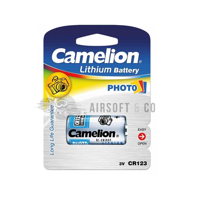 Pile lithium CR123A - 3 V
