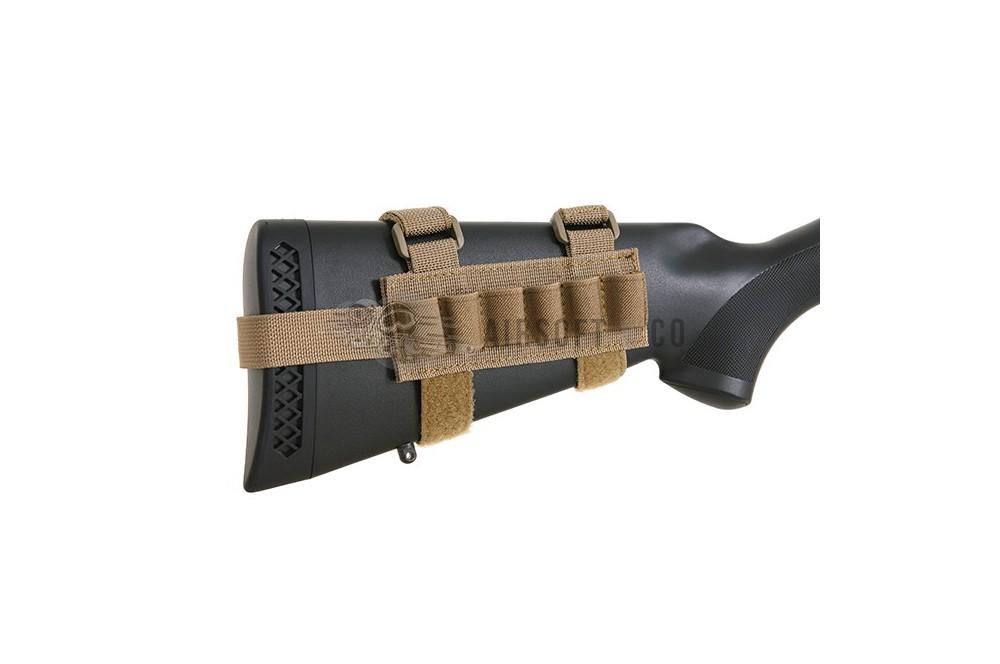Porte-cartouches de crosse pour Shotgun (6 emplacements)