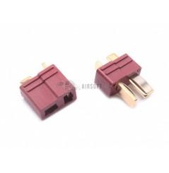 Paire de connecteurs T-Dean larges (mâle + femelle)