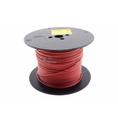 Câble silicone 1 mm² rouge