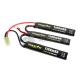 Batterie LiPo 11.1 v 1100 mAh 20C Triple