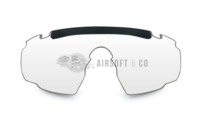 Ecran incolore pour lunettes Saber Advanced