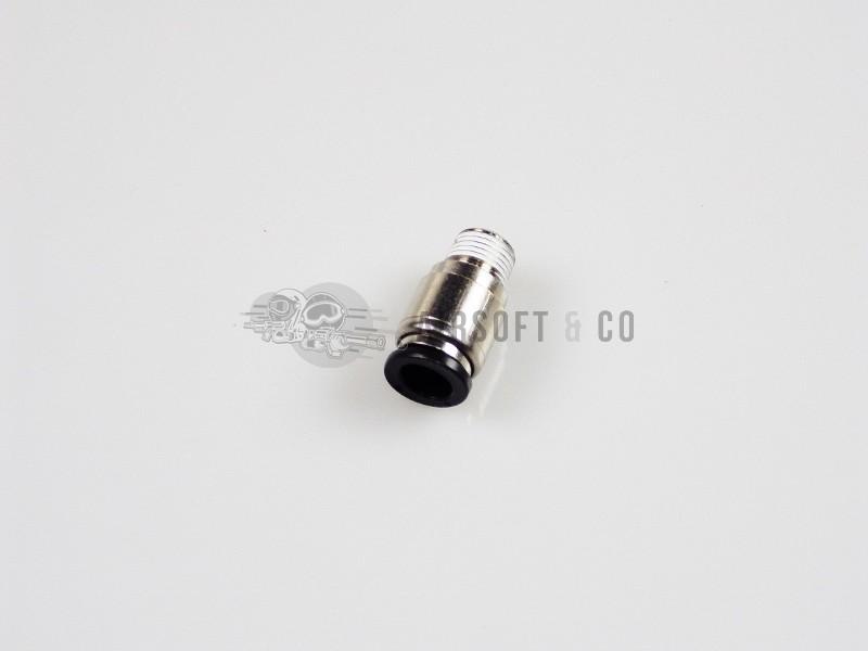 Adaptateur 1/8 NPT mâle - macroflex Ø 8 mm