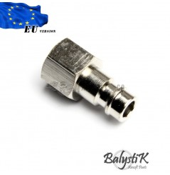 Coupleur mâle avec filetage 1/8 NPT femelle (EU)
