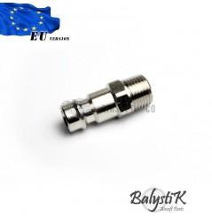 Coupleur mâle avec filetage 1/8 NPT mâle (EU)