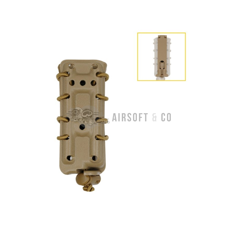 Poche Molle 9 mm extensible TAN