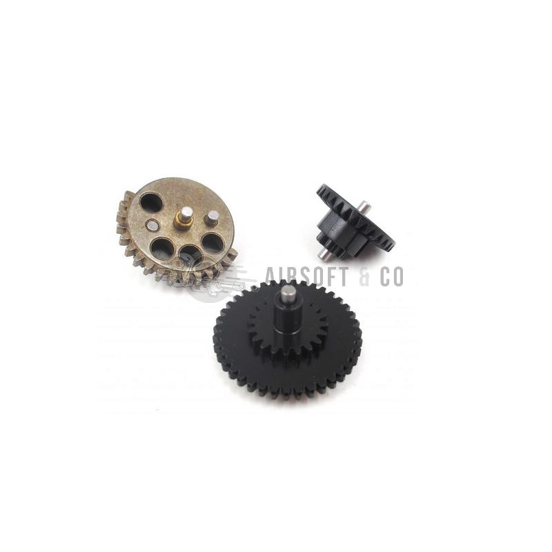 Steel CNC Gear Set 18:1