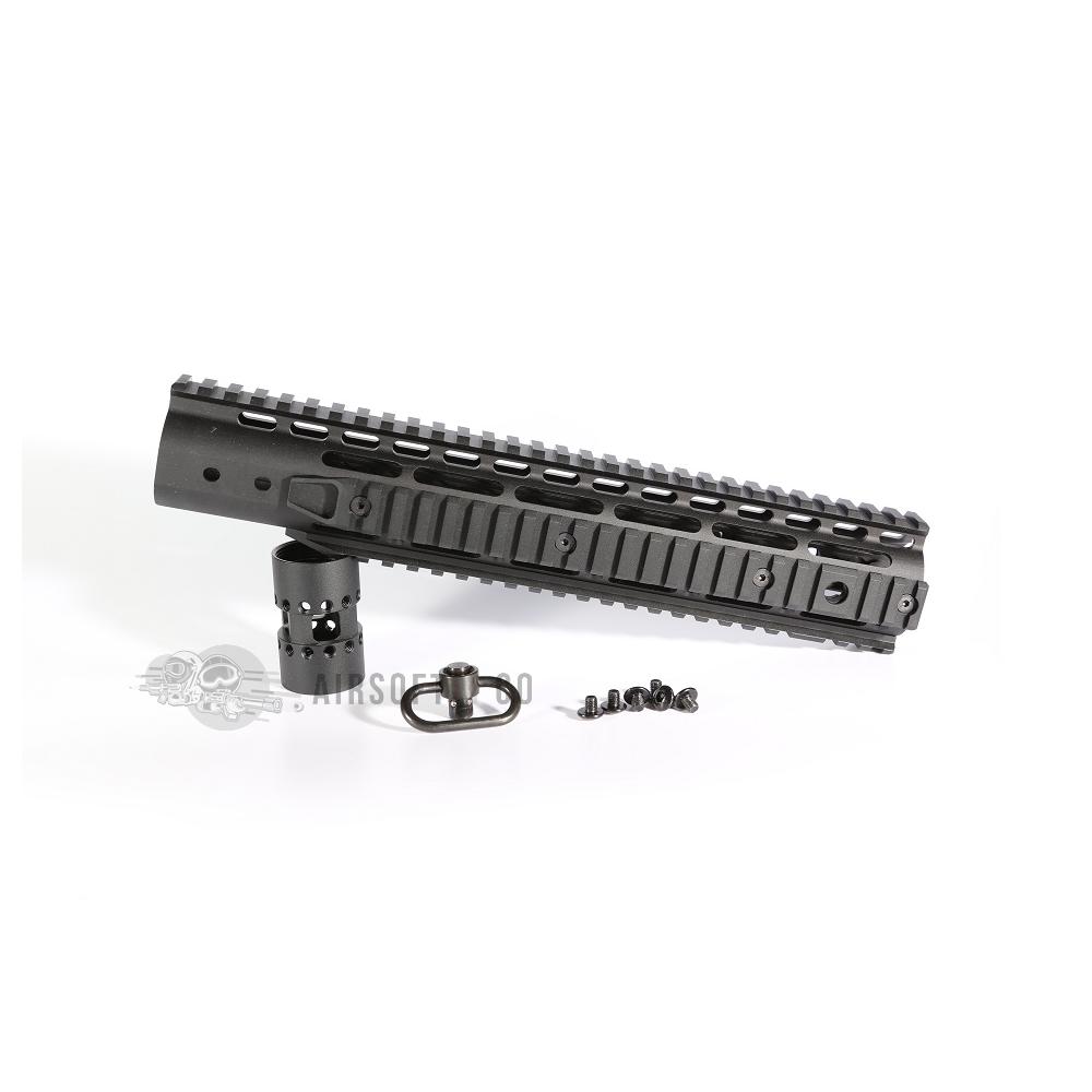 Garde-main CNC Keymod 12 pouces (set complet)