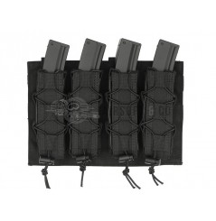 Porte-chargeurs Molle MP5 / SMG (4 emplacements)