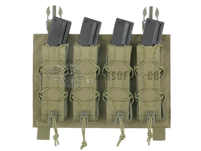 Porte-chargeurs Molle MP5 (4 emplacements) BUAPCC