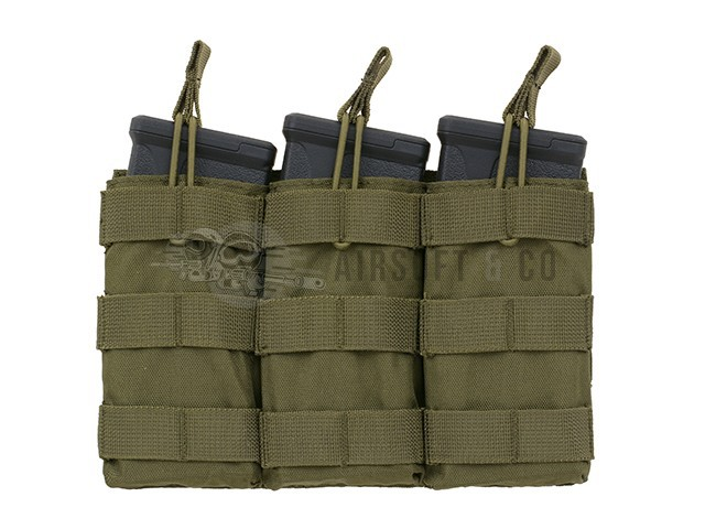 Porte-chargeurs Molle M4 (3 emplacements)