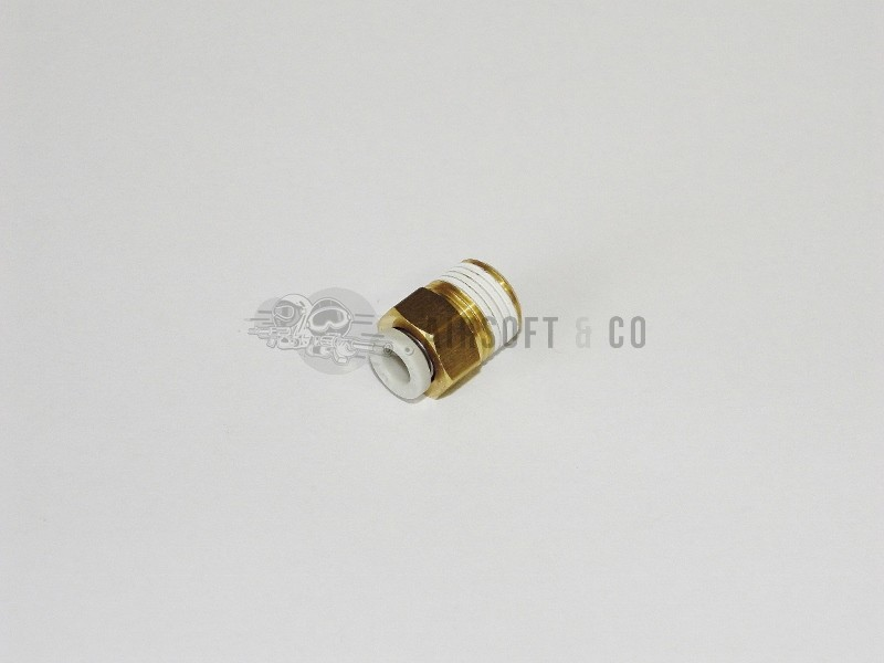 Adaptateur 1/8 NPT mâle - macroflex Ø 4 mm