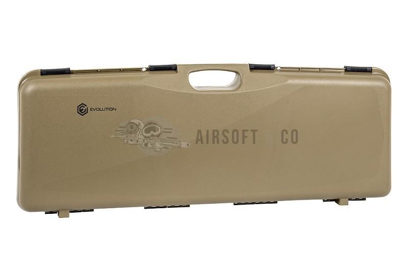 Mallette pour réplique - dimensions internes : 80 x 24.5 x 7.5 cm