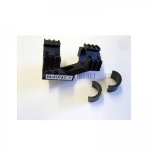 Montage lunette double (25.4 - 30 mm)