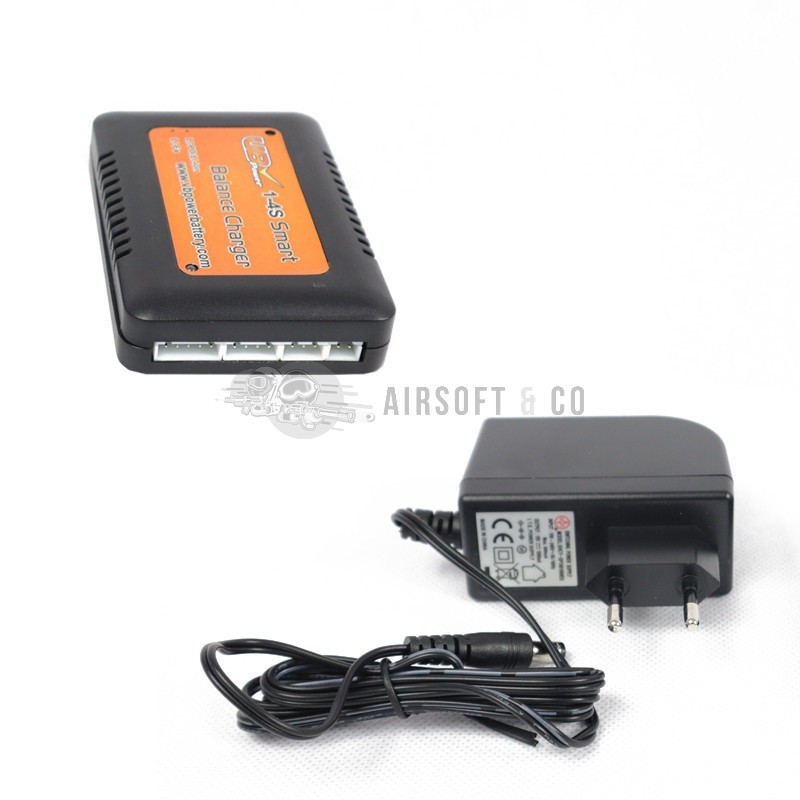 Chargeur de batteries intelligent LiPo / Li-ion / LiFe (1 - 4 S - 3.7 v to 14.8 v)