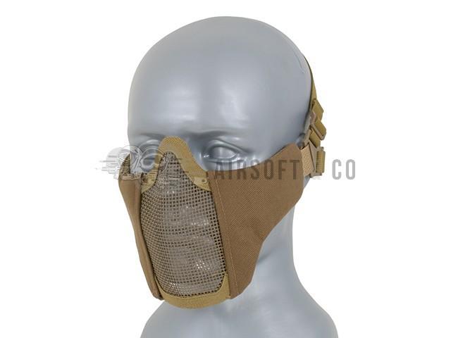 Masque bas de visage semi-grillagé
