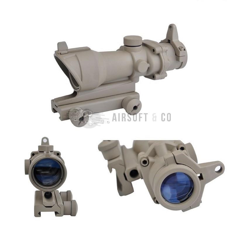 4 x 32 Compact Riflescope ACOG Type