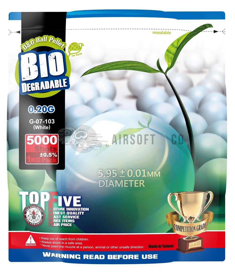 Billes 0.20 gr Bio - 5000 billes